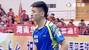 薛松VS周泽奇 2017中国羽超联赛 混合团体小组赛视频