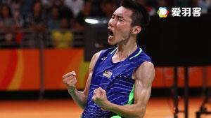 【精彩集锦】2016羽球最佳男运动员——李宗伟