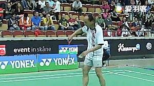 克劳斯VS川口敏雄 2015世界中老年赛 男单决赛视频