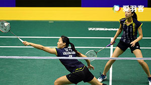 林芸如/叶程雯 VS 潘乐恩/谢影雪  2017马来西亚大师赛 女双半决赛视频
