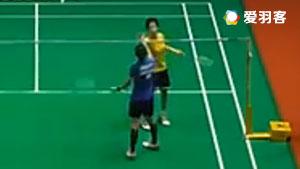 磋楚沃VS张雁宜 2017马来西亚大师赛 女单半决赛视频