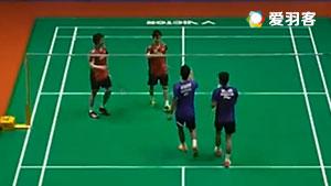 安格里亚万/哈迪安托VS远藤大由/渡辺勇大 2017马来西亚大师赛 男双半决赛视频