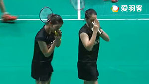 基蒂塔拉库尔/拉温达VS许雅晴/吴玓蓉 2017马来西亚大师赛 女双半决赛视频