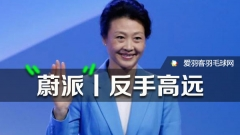 """""""羽坛皇后""""李玲蔚,教你反拍高远球"""