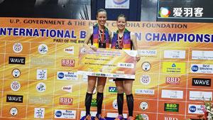 尤尔/佩蒂森VS蓬纳帕/瑞迪 2017印度黄金赛 女双决赛视频