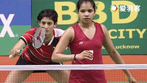 蓬纳帕/瑞迪VS桑贾纳·桑托什/苏尼尔 2017印度黄金赛 女双半决赛视频