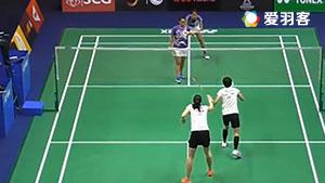 普缇塔/德拉达那猜VS蒂亚拉/普拉蒂普塔 2017泰国大师赛 女双1/4决赛视频
