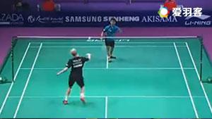 霍尔斯特VS吴烨展 2017紫盟联赛 混合团体1/4决赛视频