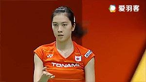 大堀彩VS金达汶 2017泰国大师赛 女单半决赛视频