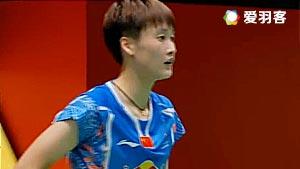 布桑兰VS陈雨菲 2017泰国大师赛 女单半决赛视频
