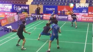 亚锦混合团体赛,国羽3V3热身赛