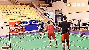 亚锦混合团体赛 最新国羽3V3训练赛