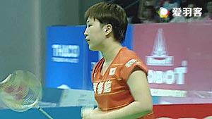 山口茜VS成池铉 2017亚洲混合团体赛 混合团体决赛视频