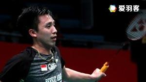 坦农萨克VS诺帕奈 2017印尼羽毛球联赛 男团小组赛视频