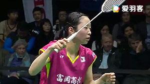 菲特安妮VS川上纱惠奈 2017印尼羽毛球联赛 女团季军赛视频