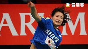 永田丽VS尤斯万达里 2017印尼羽毛球联赛 女团季军赛视频