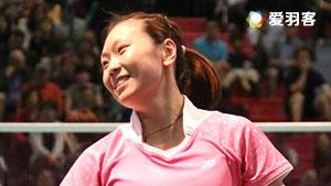 拉马蒂尼VS张蓓雯 2017印尼羽毛球联赛 女团决赛视频