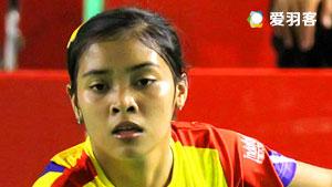 藤疆VS叶姵延 2017印尼羽毛球联赛 女团决赛视频