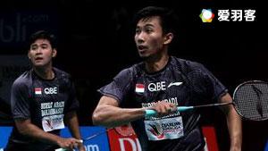 普拉塔玛/萨普特拉VS丁瑞诺/哈迪安托 2017印尼羽毛球联赛 男团季军赛视频