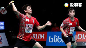 李龙大/金沙朗VS高成炫/申白喆 2017印尼羽毛球联赛 男团决赛视频