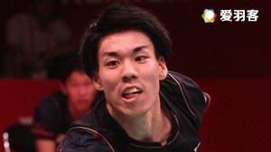 坂井一将VS约根森 2017全英公开赛 男单1/8决赛视频