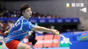 石宇奇VS安东森 2017瑞士公开赛 男单1/8决赛视频