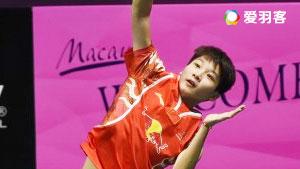陈晓欣VS科农 2017瑞士公开赛 女单1/4决赛视频