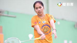 泰国羽球选手的敏捷性训练(因达农出镜)