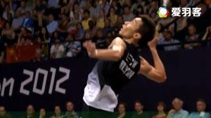超高清羽毛球击球慢动作,惊艳美如画!
