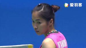 马琳VS因达农 2017马来公开赛 女单1/4决赛视频
