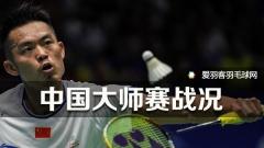 中国大师赛丨林丹、田厚威顺利晋级