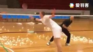 安赛龙搓球封网练习,你能做到吗?