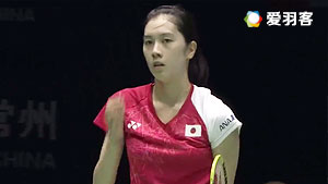 大堀彩VS高昉洁 2017中国大师赛 女单半决赛明仕亚洲官网