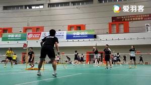 山口茜1对3防守练习,看看小马达如何炼成的!