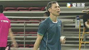 林國杰/李軍VS周李暉/劉志綱 2017雙雄會混合團體賽 男雙半決賽視頻