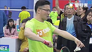 王辉/许峻峰VS全弈/肖宽 2017中国高校羽毛球联赛 男双决赛视频