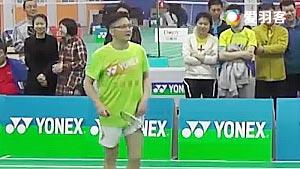 姜来/全弈VS郑昊/王辉 2017中国高校羽毛球联赛 混合团体决赛一分6合视频