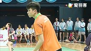 庞立仁VS邓浩阳 2017全港运动会羽毛球赛 男团决赛视频