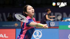 成池铉VS何冰娇 2017苏迪曼杯 混合团体决赛明仕亚洲官网