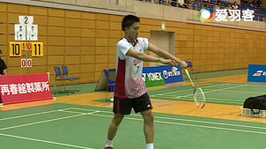 桃田贤斗VS武下利一 2017日本国内排名赛 男单半决赛视频