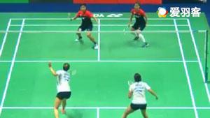 波莉/拉哈尤VS塞蒂亚娜/格罗娅 2017泰国公开赛 女双1/4决赛视频