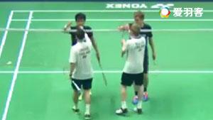 M·埃利斯/兰格瑞奇VS扬森/兹沃涅 2017泰国公开赛 男双1/4决赛视频