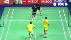 拉斐尔/卡斯巴尔VS伊斯里亚内特/南达什 2017泰国公开赛 男双1/4决赛视频