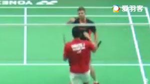 乔纳坦VS利弗德斯 2017泰国公开赛 男单1/4决赛视频
