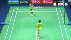 番纳怀特VS坦农萨克 2017泰国公开赛 男单1/4决赛视频