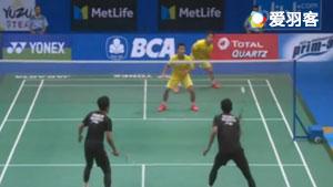 德差波尔/基丁柳蓬VS萨普特拉/阿山 2017印尼公开赛 男双1/16决赛视频