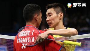 李宗伟VS苏吉亚托 2017印尼公开赛 男单1/16决赛视频