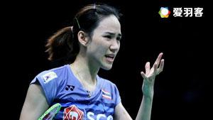 金达汶VS金效旻 2017印尼公开赛 女单1/16决赛视频