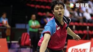 周天成VS安东森 2017印尼公开赛 男单1/8决赛明仕亚洲官网