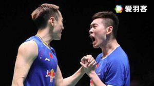 刘成/张楠VS索伦森/安德斯 2017印尼公开赛 男双1/8决赛视频
